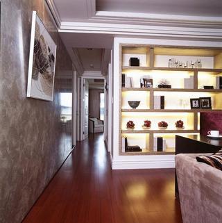 100平三居室装修走廊设计