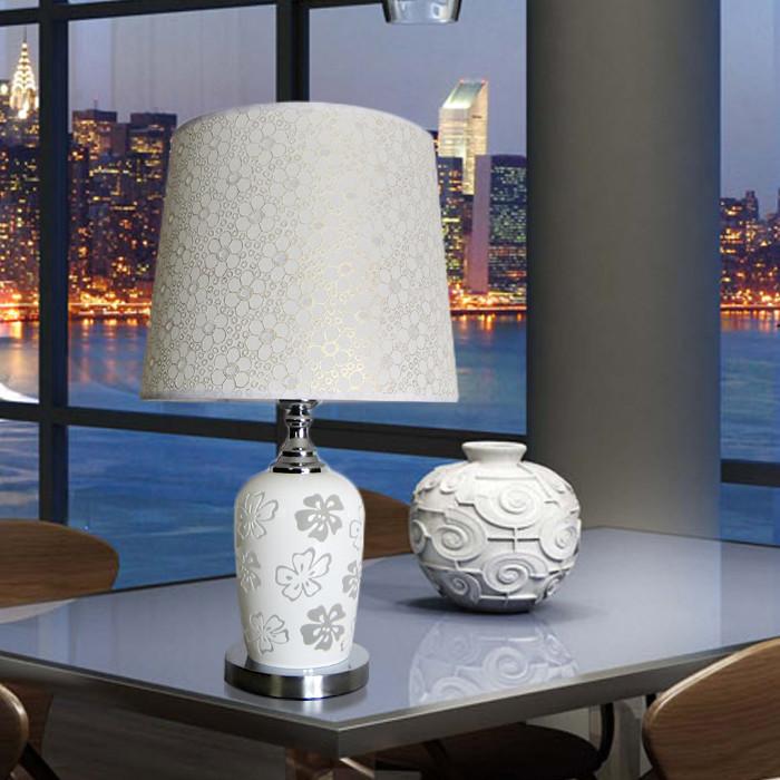 梵希如图有机玻璃简约现代镂空雕花台灯