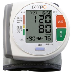 攀高自动加压数字液晶显示方式智能小精灵血压计