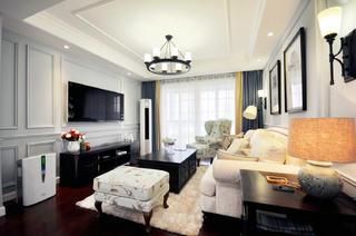 美式两居室装修设计 静谧清新