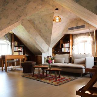 230平简美风格别墅装修阁楼设计