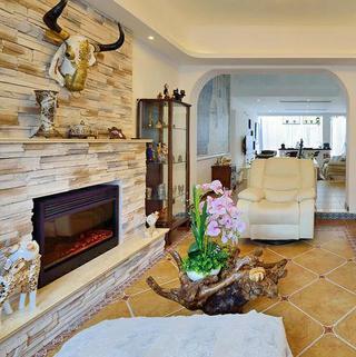 地中海风格复式别墅装修图