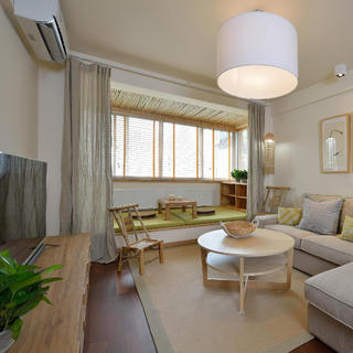 两居室日式风格家 素净安详