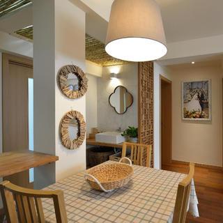 两居室日式风格家餐厅布置图