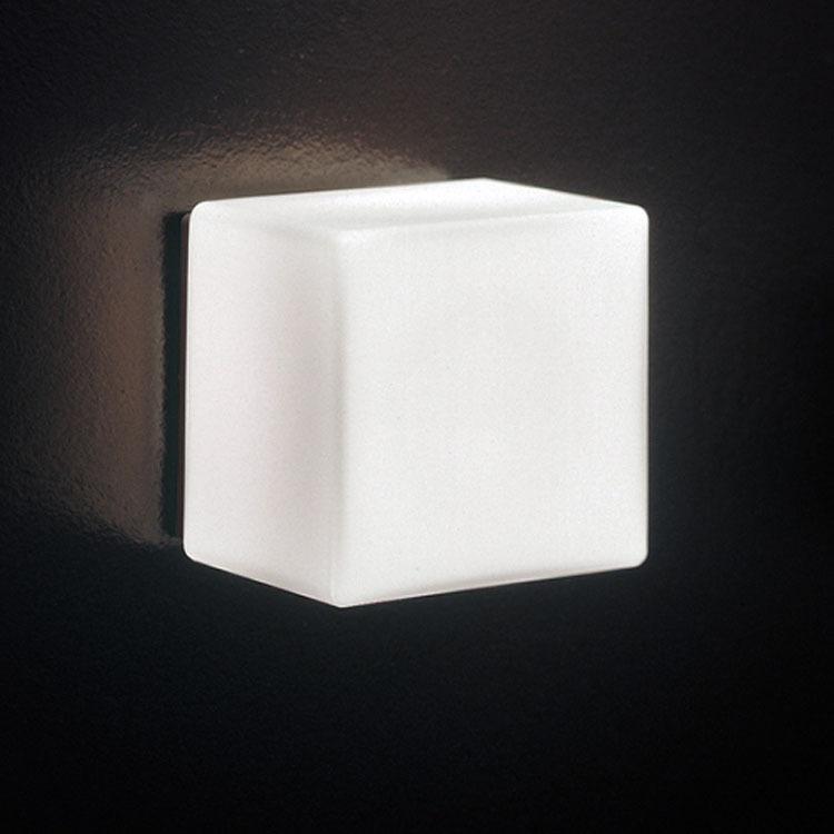 柴火玻璃铁简约现代镀铬白炽灯壁灯