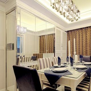 现代公寓装修餐厅效果图