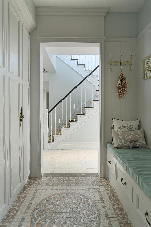 大户型美式跃层装修门厅设计图