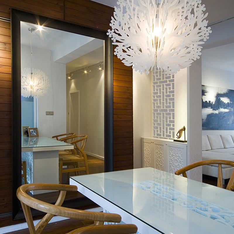 三居室现代中式家吊灯设计
