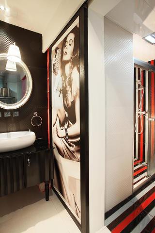 70平两居室装修洗手台图片