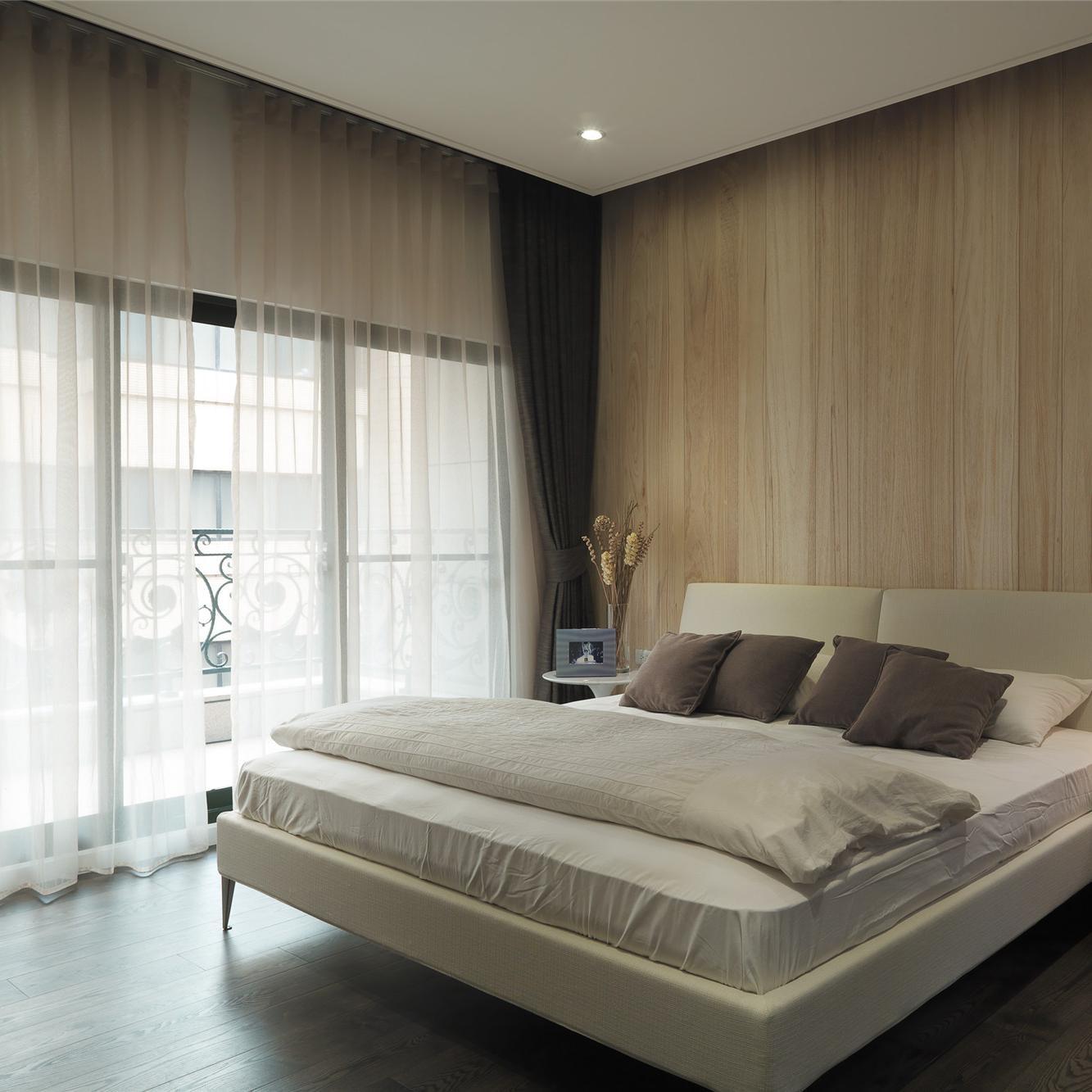 小户型简约两居室装修卧室设计图