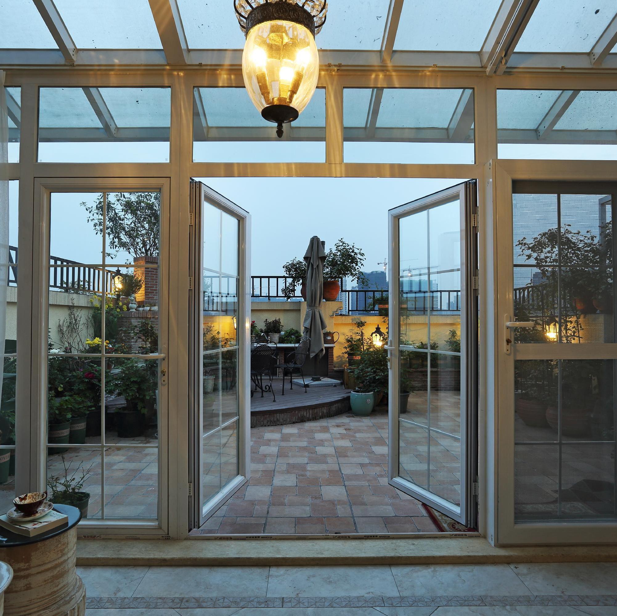 大户型美式跃层装修露台花园设计