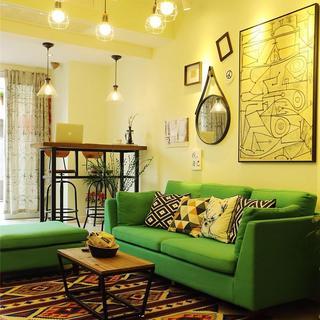 Loft风格两居室装修 活力清新