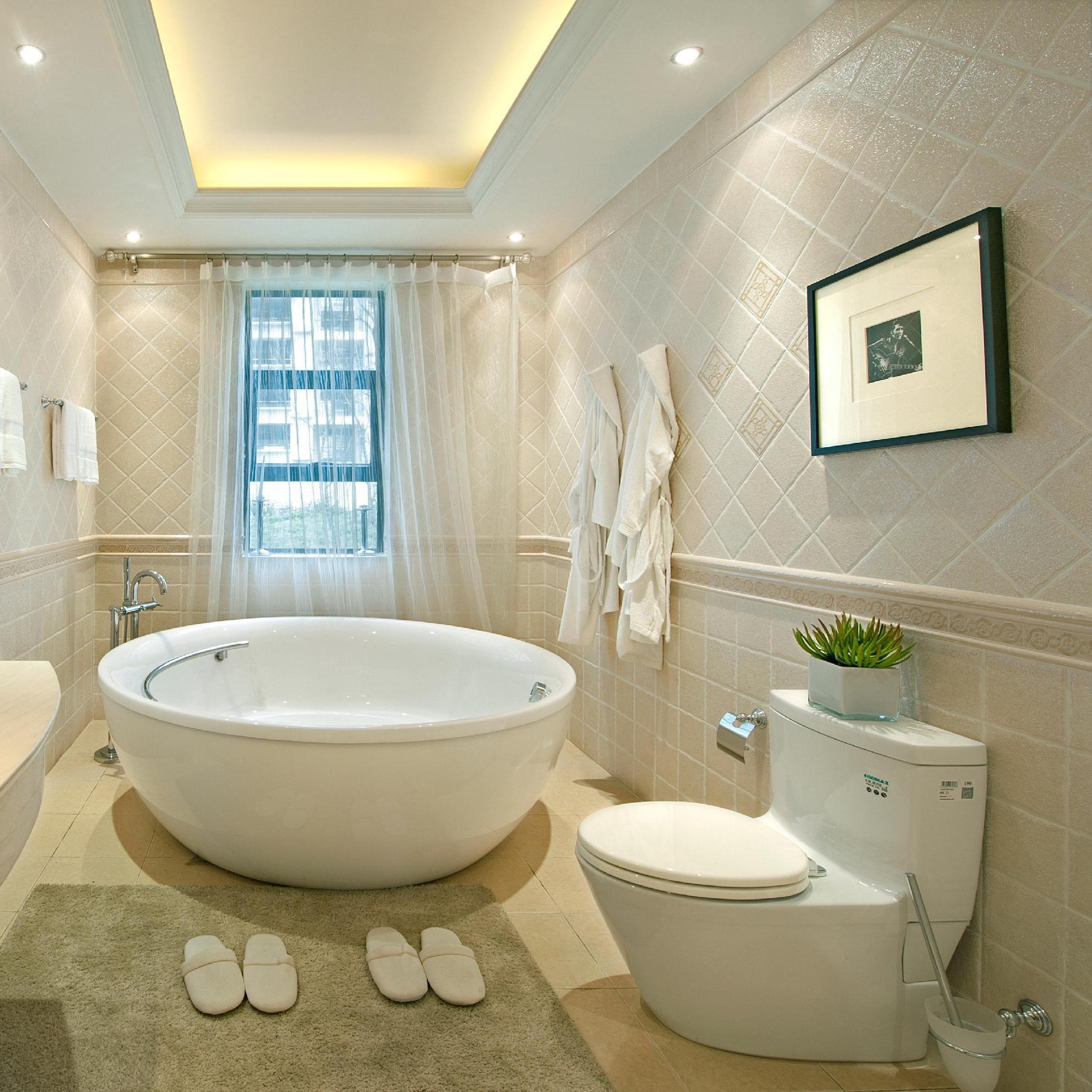 175平新古典装修卫生间设计图