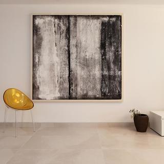 两居室简约风格家装饰画欣赏