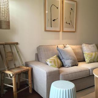 两居室日式风格家沙发图片