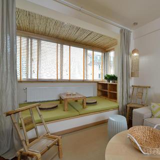 两居室日式风格家阳台设计
