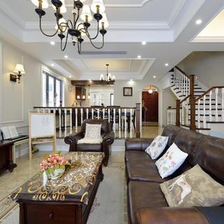 美式风格别墅设计沙发图片