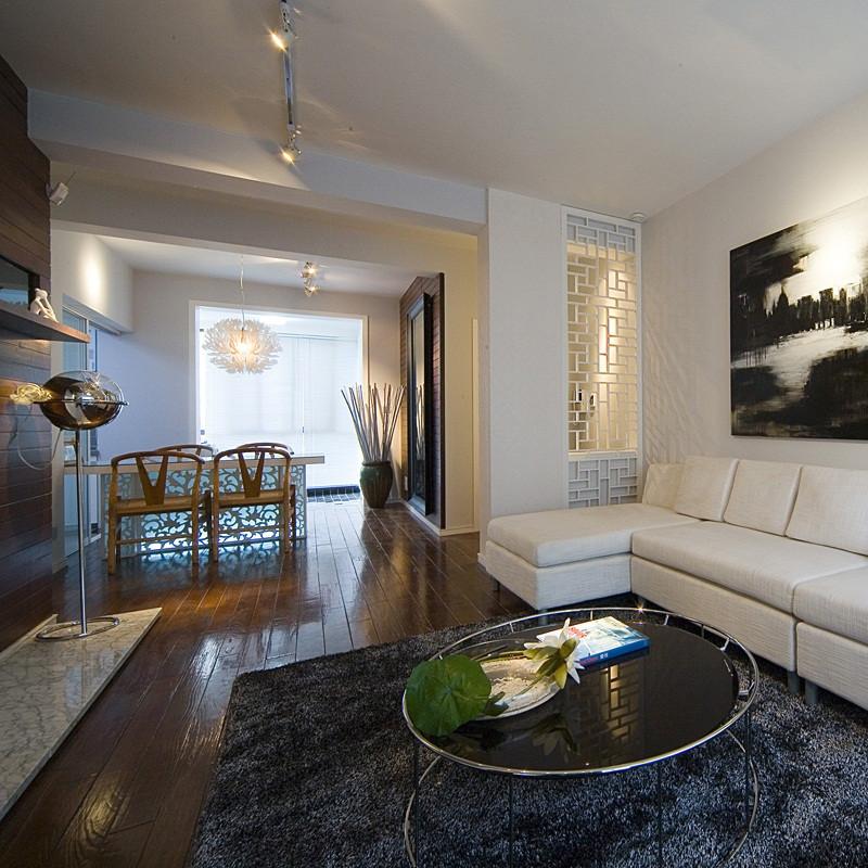 三居室现代中式家沙发图片