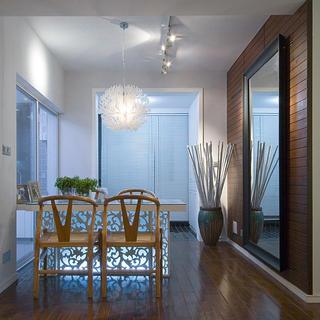 三居室现代中式家餐厅欣赏图