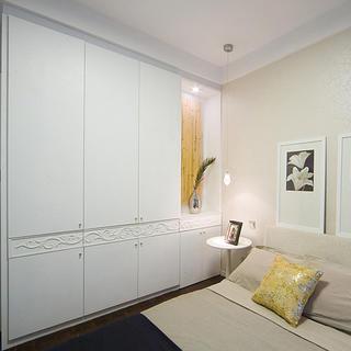 三居室现代中式家衣柜图片