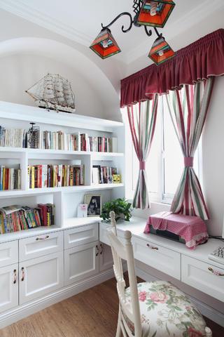 小户型公寓装修书房设计图