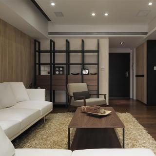 小户型简约两居室装修效果图