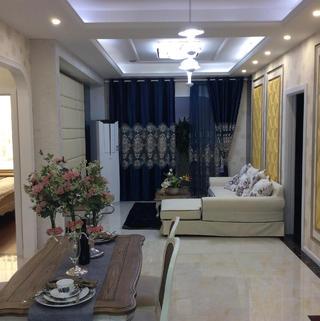 110㎡现代三居室装修设计图