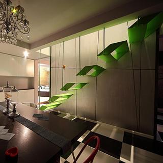 130平Loft装修楼梯设计