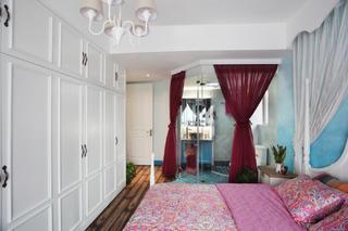 85平地中海风格家衣柜设计