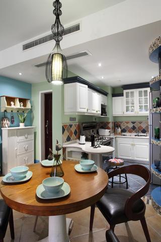 85平地中海风格家厨房设计图