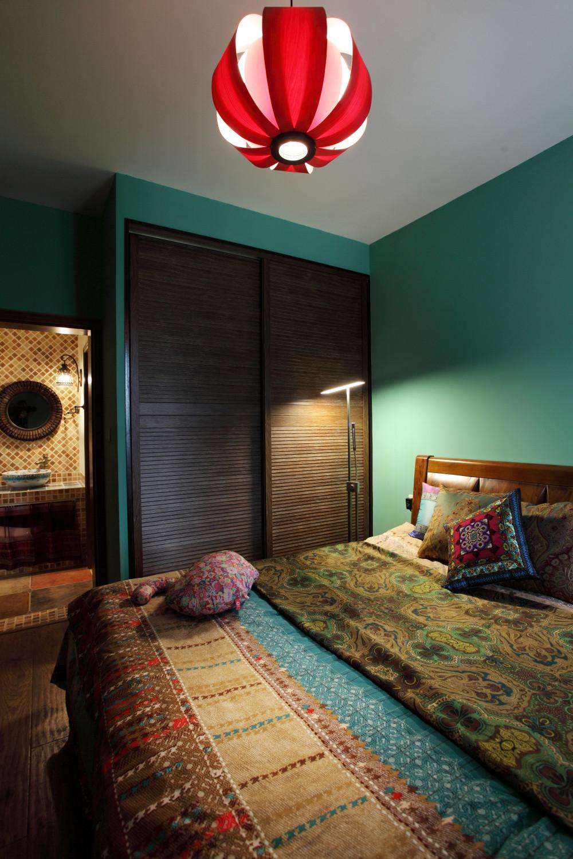 小户型混搭之家卧室设计图
