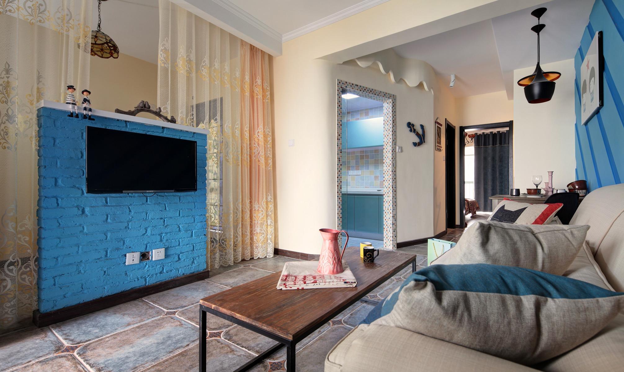 小户型一居装修电视墙设计