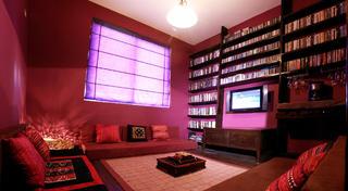 120平东南亚三居装修休闲室布置图