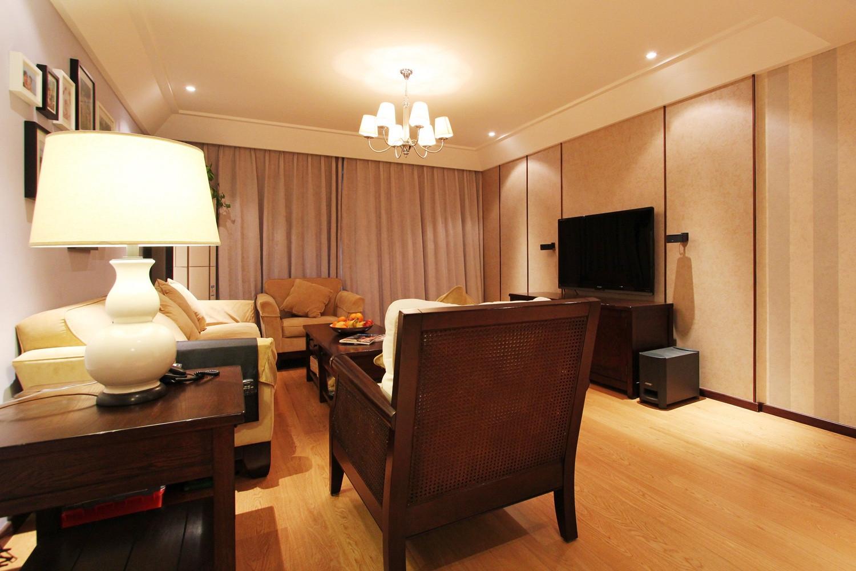现代四居室装修电视背景墙图片