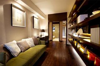 新中式风格样板间装修沙发图片