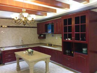 古典美式风格别墅装修厨房厨房设计图