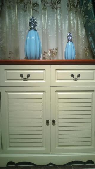 地中海兩居室裝修鞋柜圖片