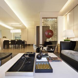 现代风别墅装修设计 舒适高雅
