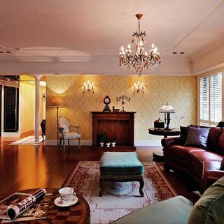 欧式风格装修客厅搭配图