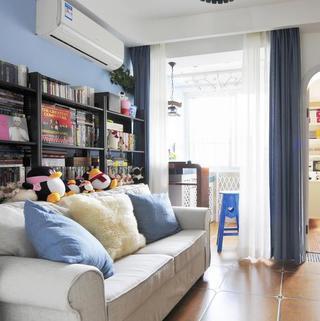 小户型地中海风格公寓装修图