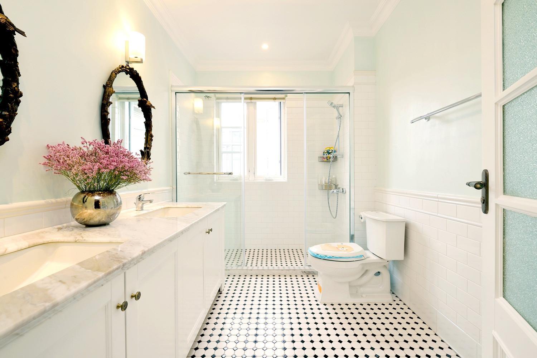 大户型美式别墅装修卫生间布局图