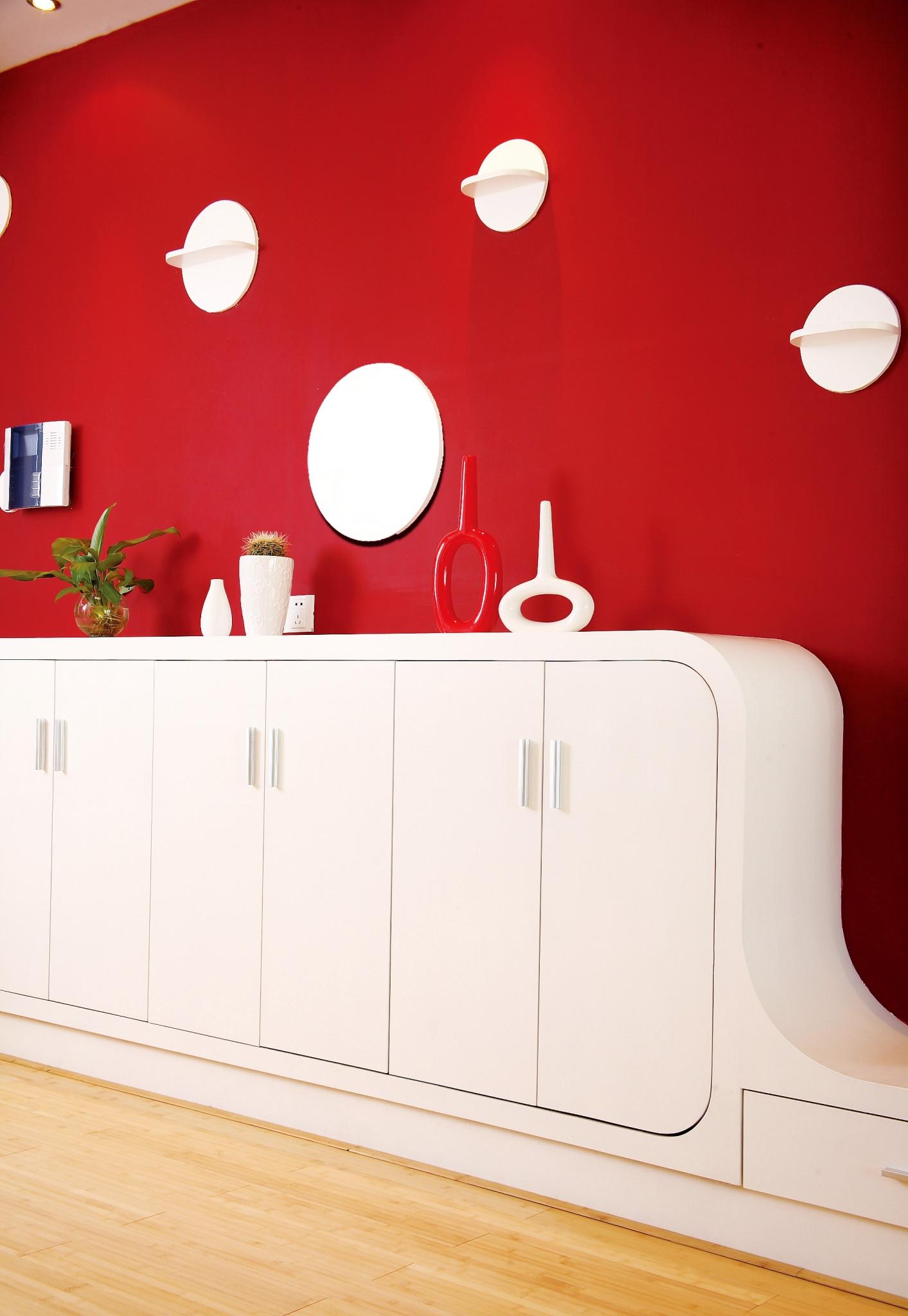 简约二居室装修储物柜设计