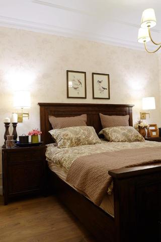 175㎡经典美式装修卧室搭配图