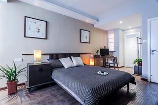 160㎡新中式风格装修卧室布置图