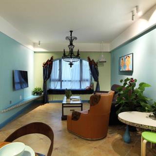 85平地中海风格家 独特空间