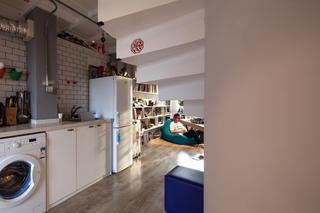 Loft公寓装修厨房布局图