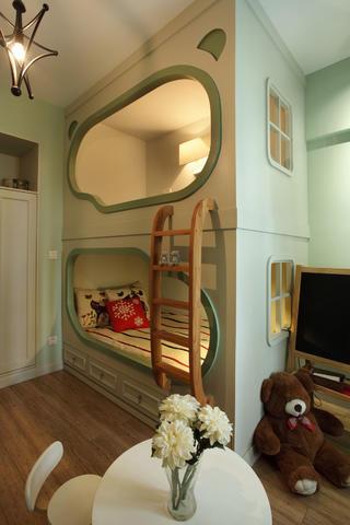 混搭风三居装修儿童房设计图