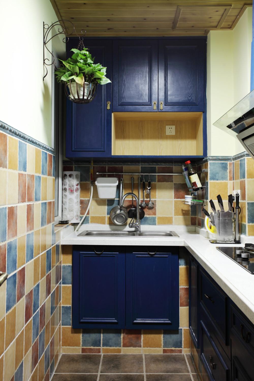 小户型混搭之家厨房搭配图