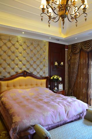 经典欧式风别墅装修卧室设计图