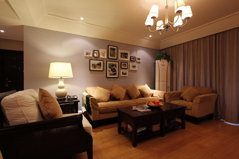 现代四居室装修沙发背景墙图片